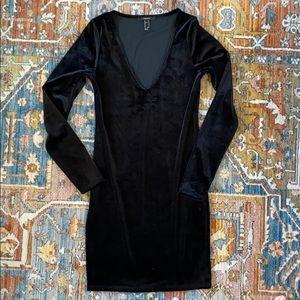 Forever21 Velvet Bodycon Dress